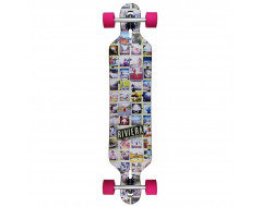 "Riviera 41.3"" Mosaic Drop Through - Complete Longboard"