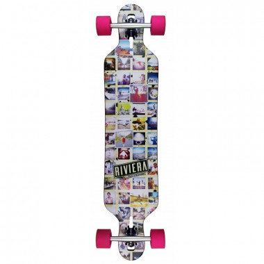 Riviera Mosaic Drop Through - Complete Longboard