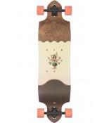 "Globe Geminon Micro-Drop 37.5"" Longboard - Coconut/Hula"
